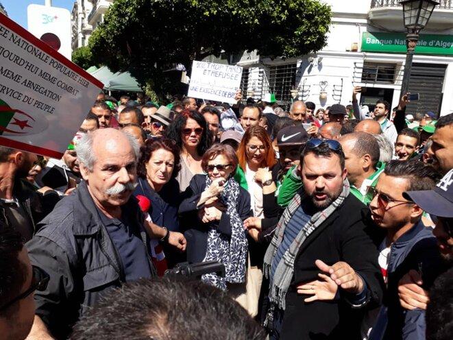 Khadija Chérif et Djamila Bouhired © La révolution algérienne