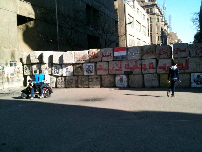 Photo prise le 26 décembre 2011 rue Mohamed Mahmud