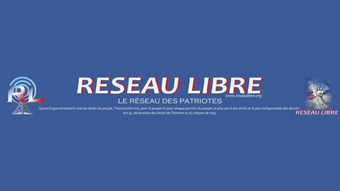 La bannière du site Réseau libre. © DR