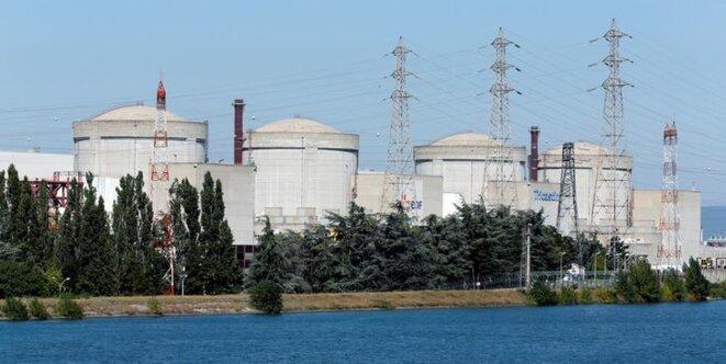 La centrale nucléaire du Tricastin, dans la Drôme. © Reuters