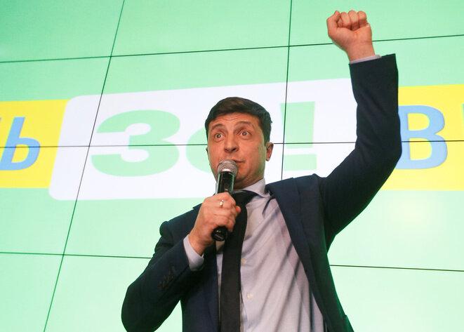 Volodymyr Zelenski dimanche 31 mars au soir. © Reuters