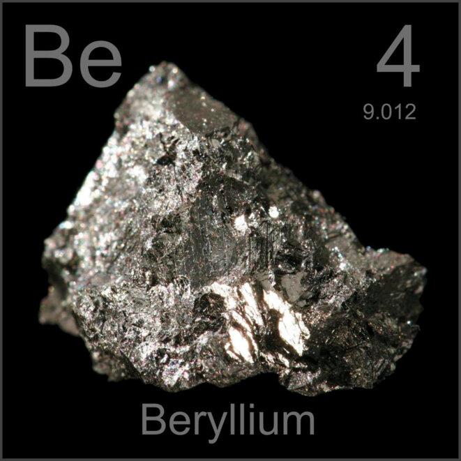 Un échantillon de béryllium. © DR