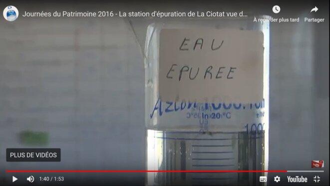 Sortie en mer théorique des effluents de la station d'épuration de La Ciotat © Jacques