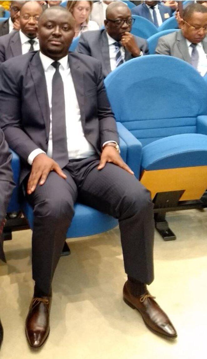 SÉNAT - Colloque Gabon-France-29 mars 2019- Le Ministre Justin NDOUNDANGOYE