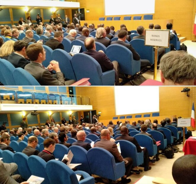 SÉNAT - Vue de la salle - Colloque Gabon-France-29 mars 2019