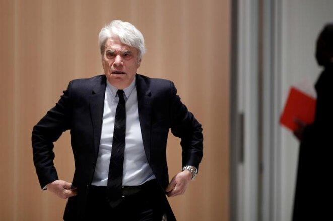 Bernard Tapie le 1er avril au Palais de justice de Paris. © Reuters