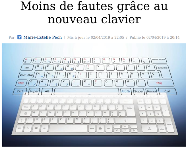 http://www.lefigaro.fr/actualite-france/2019/04/02/01016-20190402ARTFIG00080-moins-de-fautes-grace-au-nouveau-clavier.php