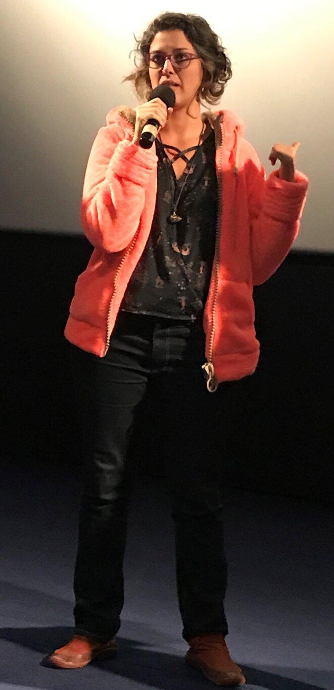 Beatriz Seigner, à Auch (Gers) au cinéma de Ciné 32, le 25 mars [Photo YF]