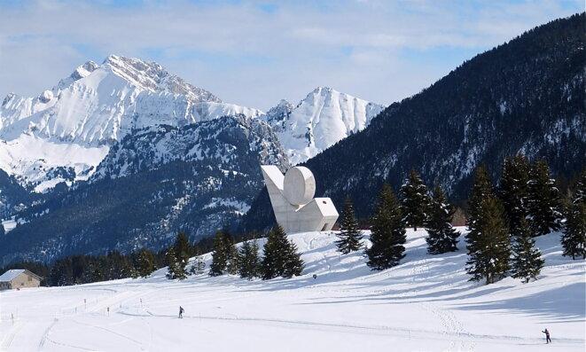 Le monument de Gilioli © OT Annecy