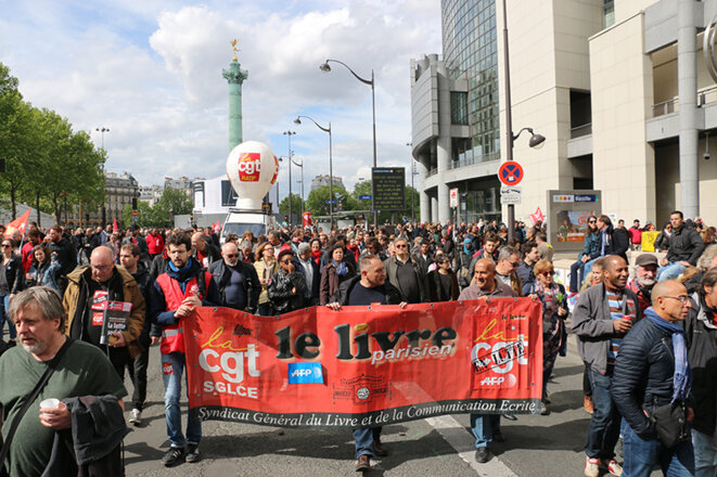 Manifestation du 1er mai 2018, à Paris