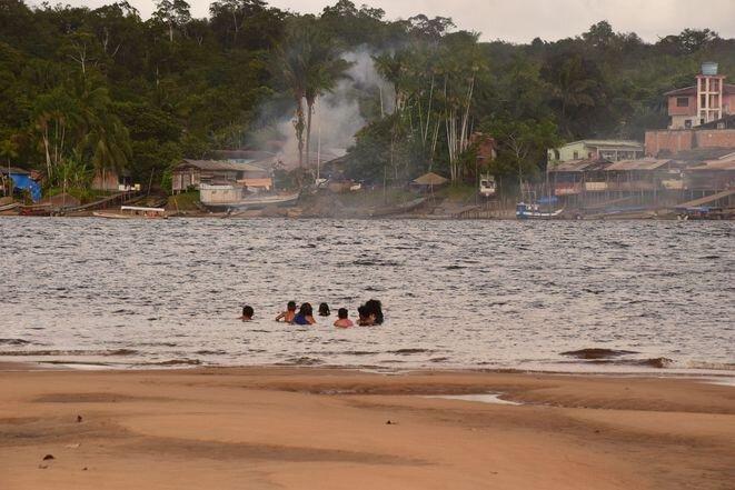 Al caer la tarde en Vila Vitória. © MB