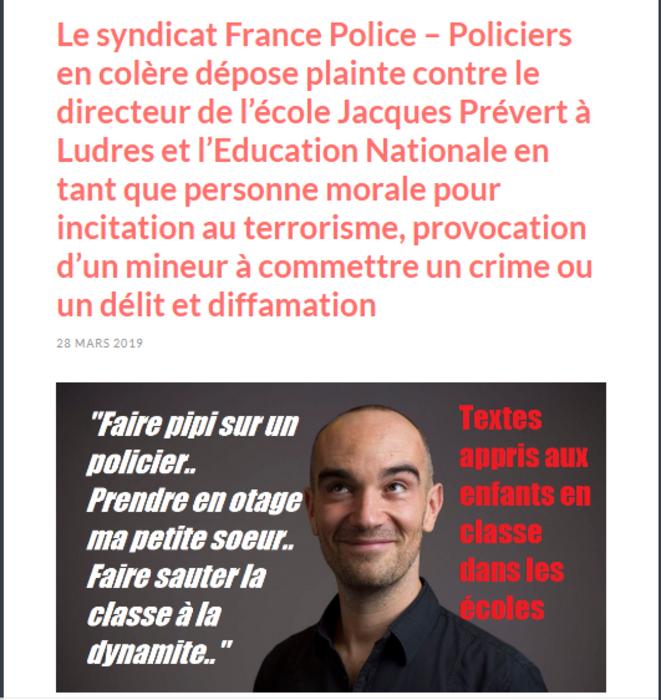 france-police-plainte-chanson