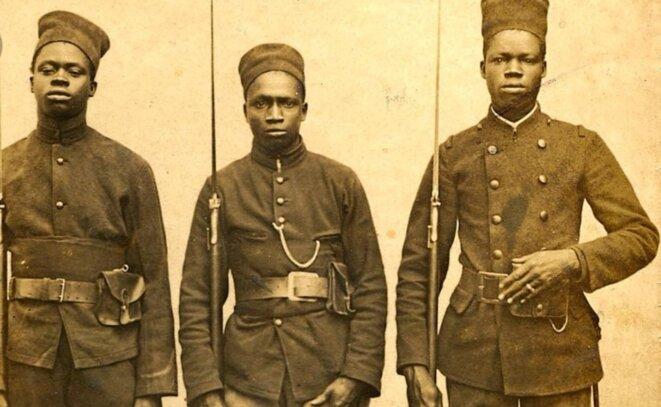 Sénégalais enrôlés sous drapeau français