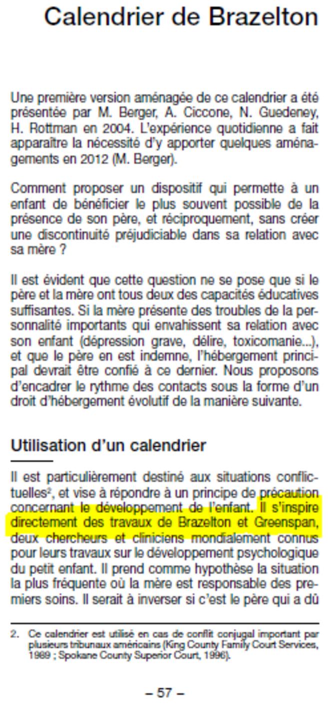 Calendrier De Brazelton.Mensonge L Aveu Tardif Du Docteur Maurice Berger Le Club