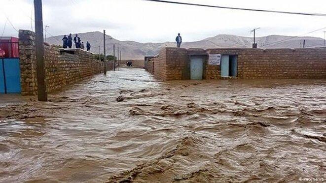 les inondations en Iran
