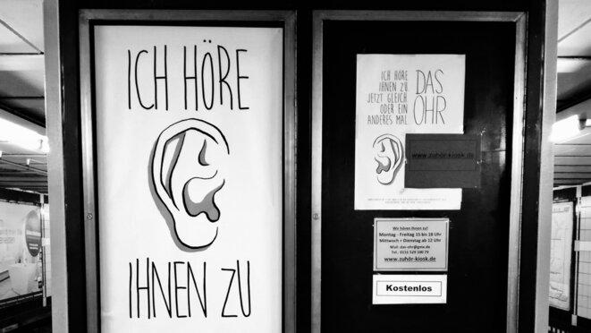 Station de métro Emilienstraße à Hambourg © Arthur Devriendt