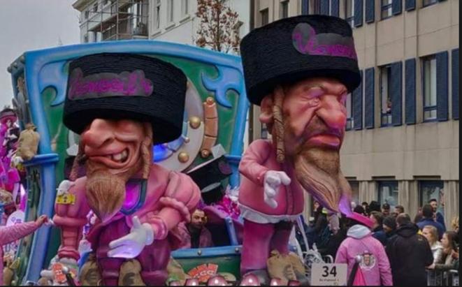 La carnaval d'Alost (Belgique) mars 2019 © D.R.