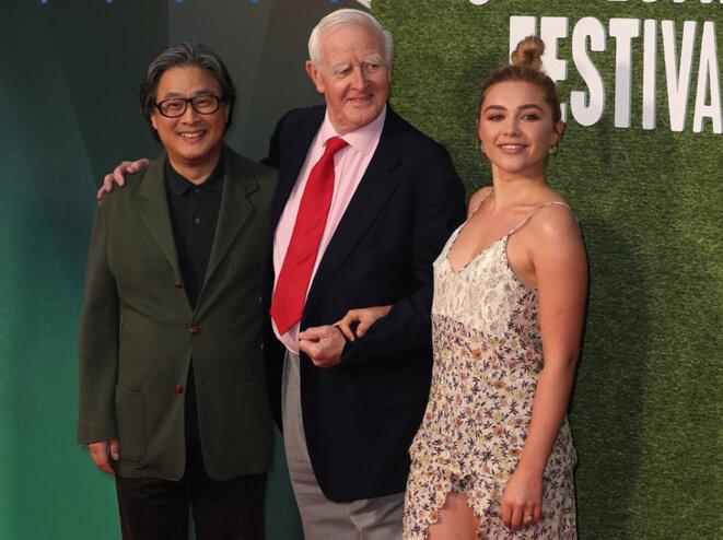 Park Chan-Wook, John le Carré, Florence Pugh © Afp-London Film Festival 2018