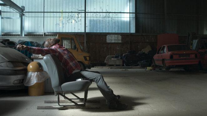 """Bewegungen eines nahen Bergs"", de Sebastian Brameshube © Mischief Films/ Panama Film / Le Fresnoy - Studio national des Arts contemporains"