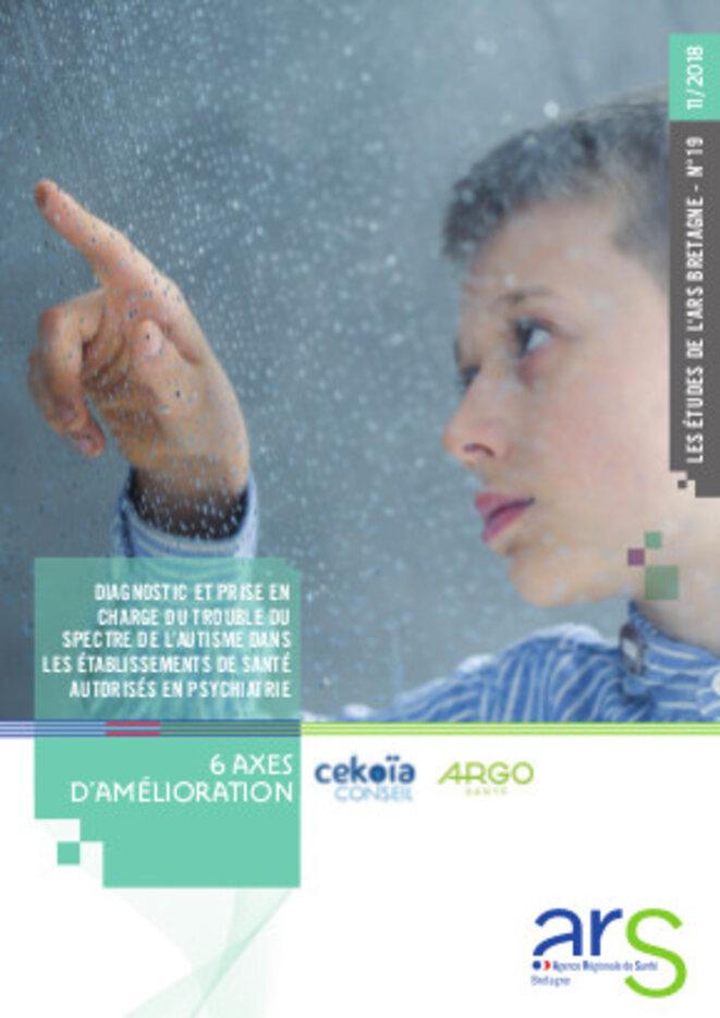 Synthèse prise en charge de l'autisme dans le secteur sanitaire © ARS Bretagne