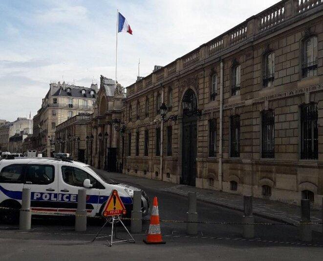 Palais de l'Elysée, 6 avril 2019