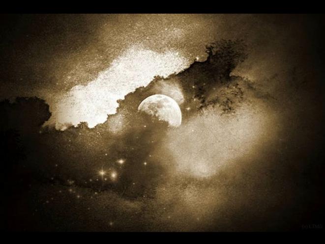 La lune rousse - Des nuits blanches : L'insomnie peut être un signe de dépression chez les enfants autistes. © Luna TMG