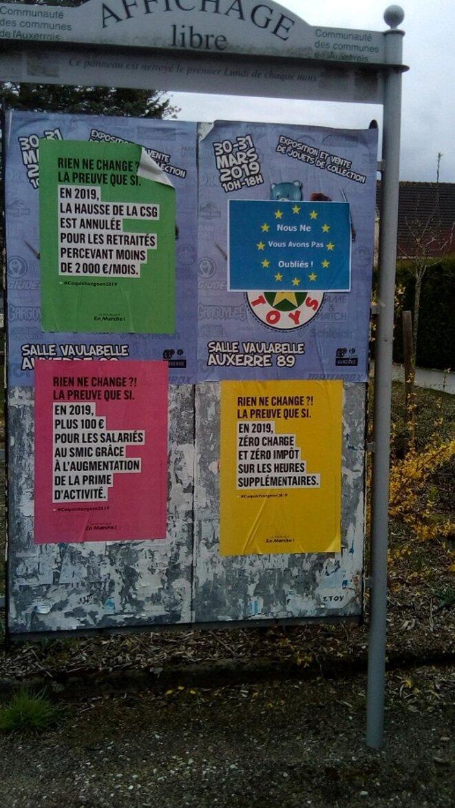 campagne des Européennes LREM