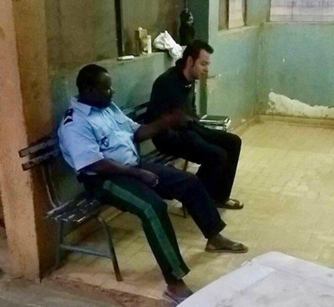 Arrêté au Niger, en décembre 2016. © DR