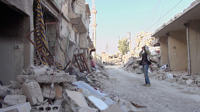 """Still Recording"" Le décor quotidien de Douma © Ghiath Ayoub, Saeed Al Batal"