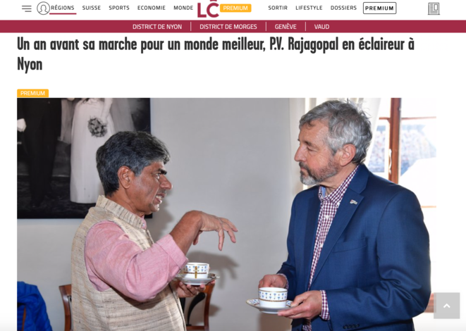 Article La Cote 17 mars 2019