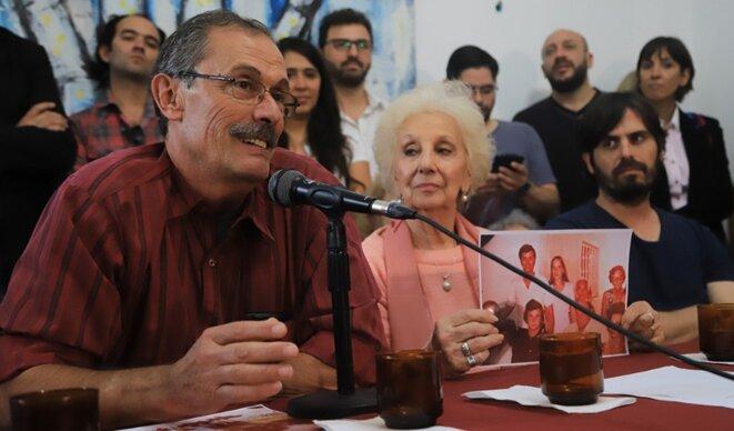 Conférence de presse au siège des Grands-mères © Noticias Argentina