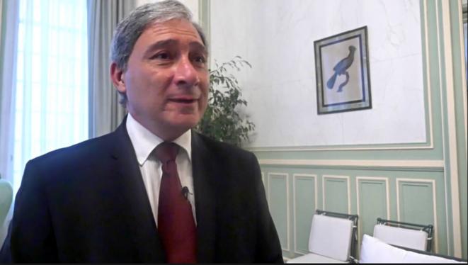 Jean-Michel Prêtre, procureur de la République de Nice. © DR