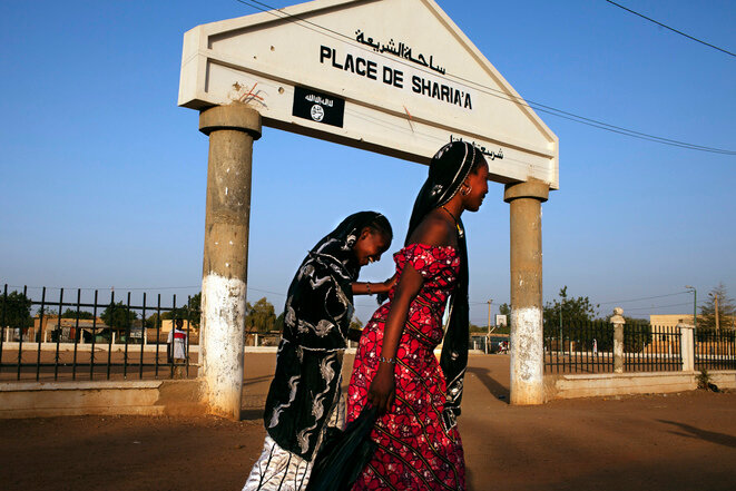 """Sharia Square""in Gao, seen here in February 2013, where the occupying jihadists in 2012 carried out amputations in public. © Reuters"