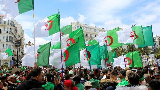 Alger ce vendredi 12 avril. © Reuters