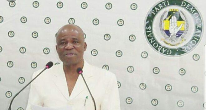 Faustin Boukoubi, parfait dans son rôle de traître à la nation