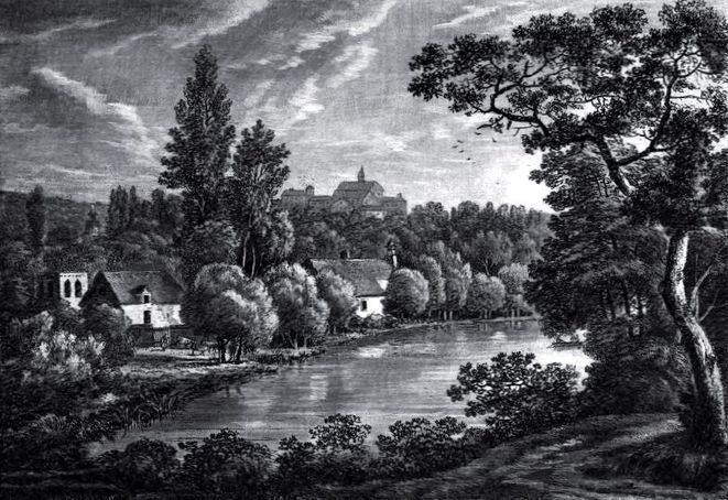 Parc Rousseau à Ermenonville