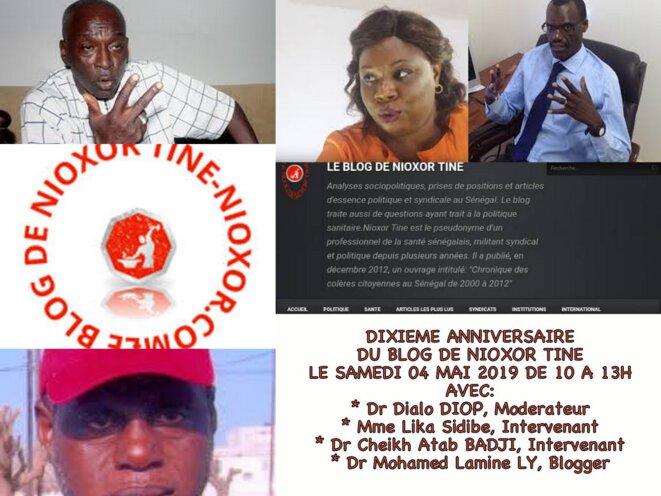 Dixième anniversaire du blog de Nioxor Tine