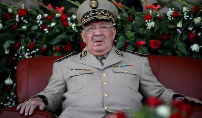 Gaïd Salah, chef d'état-major de l'armée depuis 2004. © (dr)