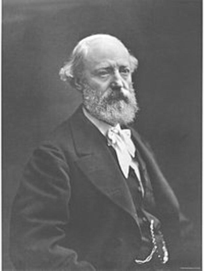 Portrait d'Eugène Viollet-le-Duc par Nadar.