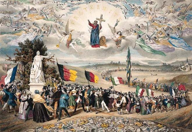 République universelle, démocratique et sociale (1848) © Paris, musée Carnavalet