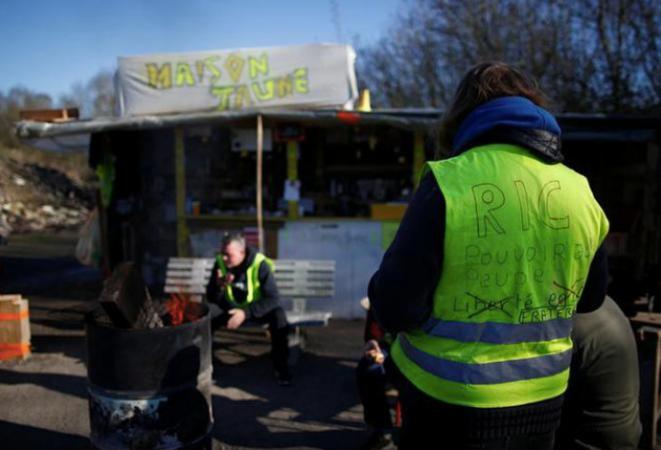 Rassemblement près d'Amiens. © Reuters
