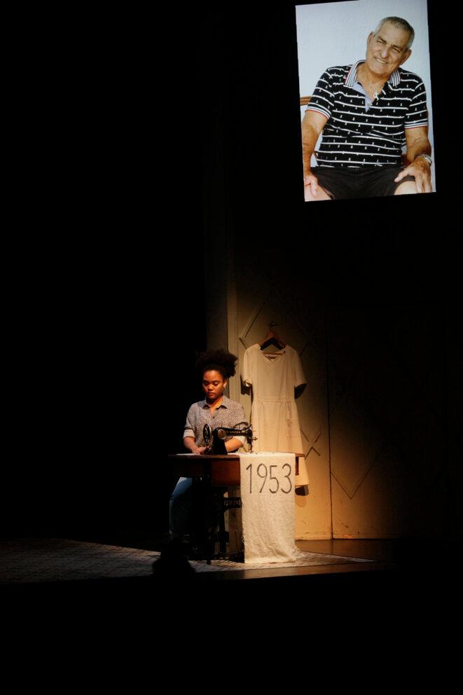 """""""Granma. Les trombones de La Havane"""", Stefan Kaegi, Rimini Protokol, création mars 2019, Théâtre Vidy-Lausanne, dans le cadre du Festival Programme Commun © Ute Langkafel"""