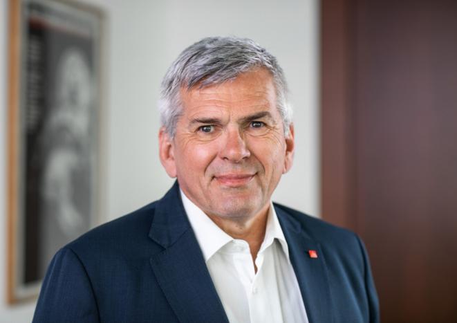 Jörg Hofmann, président du syndicat IG Metall: «Les travailleurs ont aujourd'hui besoin d'un maximum de protection»