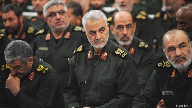 De hauts commandants de pasdaran en Iran