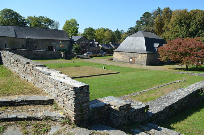 The site today of the camp de la Forge at Moisdon-la-Rivière, in north-west France. © PYB