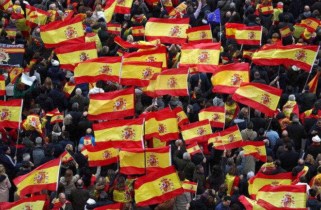El domingo 10 de febrero de 2019 en Madrid. © Reuters/Sergio Perez