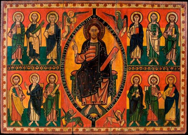 © Christ en majesté (vers 1150/1200)