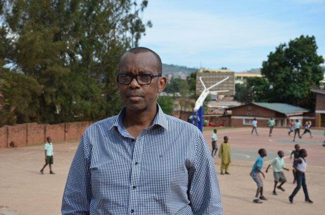 Damas Gisimba a protégé des enfants tutsis dans son orphelinat. © Justine Brabant