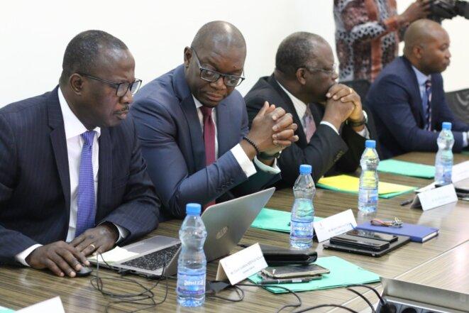 GOC-Les membres du Conseil d'administration lors de la séance de travail