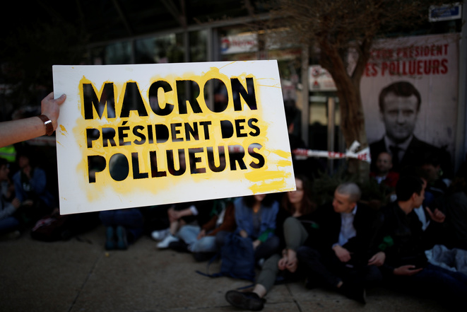 À La Défense le 19 avril 2019. © Benoît Tessier / Reuters